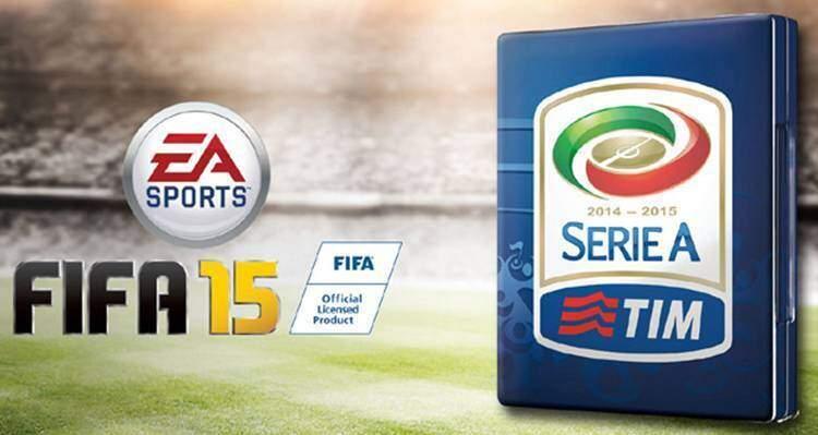 FIFA 15: licenza ufficiale per la Serie A TIM