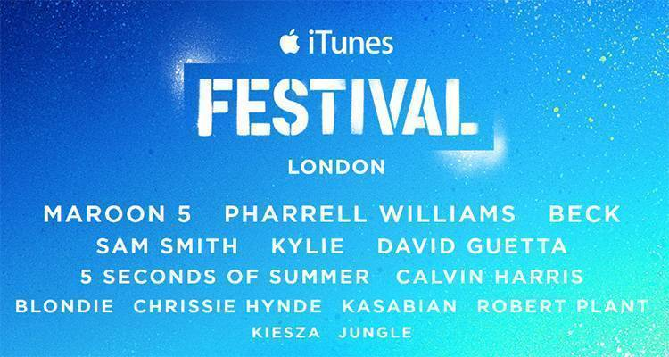 iTunes Festival 2014: Apple presenta l'evento annuale di Londra