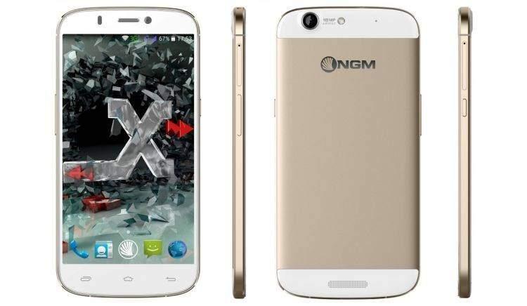 NGM Forward Xtreme: device Octa-Core con fotocamera 18 MP