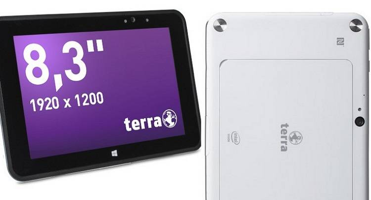 TERRA Mobile Industry PAD 885: tablet rugged da 1200€
