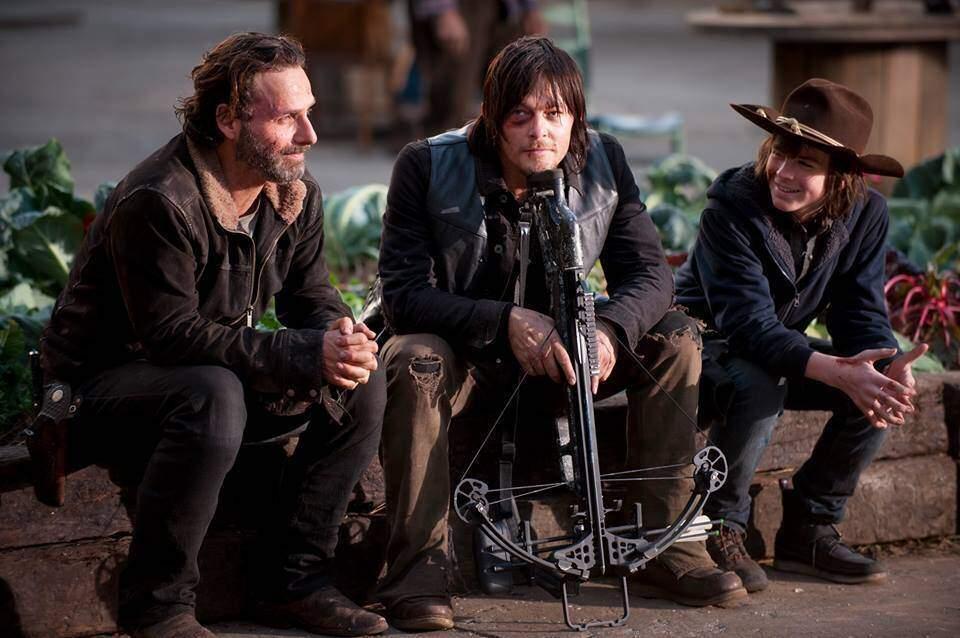The Walking Dead, Rick Grimes parla della quinta stagione