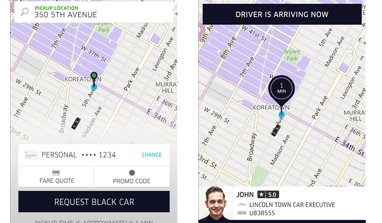 Uber sbarca ufficialmente su Windows Phone!