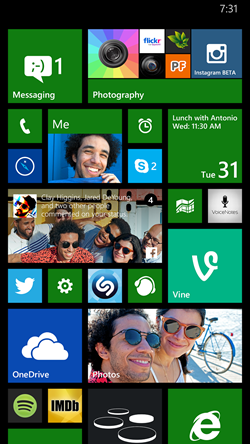 windows phone 8.1 update 1 live tile
