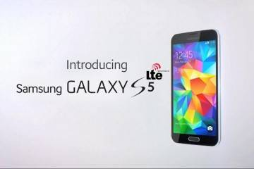 Immagine promozionale del Samsung Galaxy S5 LTE-A