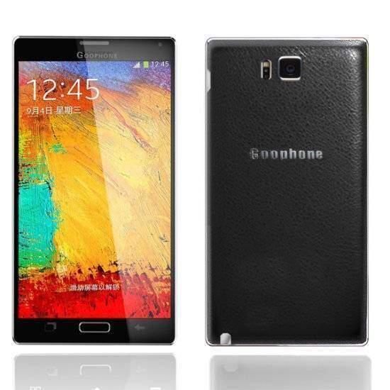 immagine di un clone del Samsung Galaxy Note 4