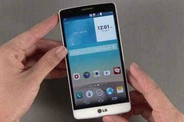 Fotografia dal vivo di LG G3 S o LG G3 Beat