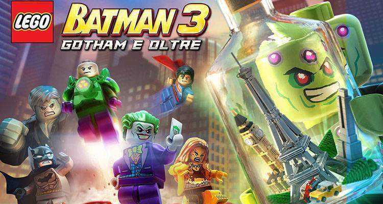 LEGO Batman 3: Gotham e Oltre, nuovo trailer dedicato a Brainiac