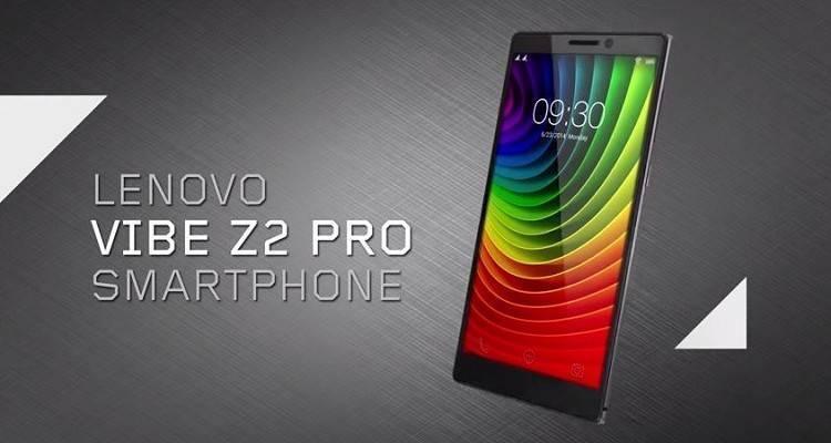 Immagine promozionale Lenovo Vibe Z2 Pro
