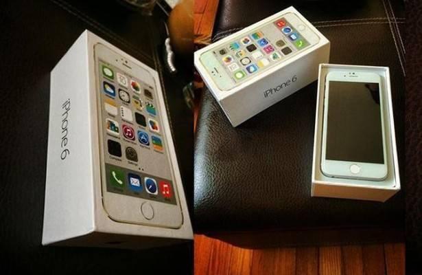 fotografia confezione di iPhone 6
