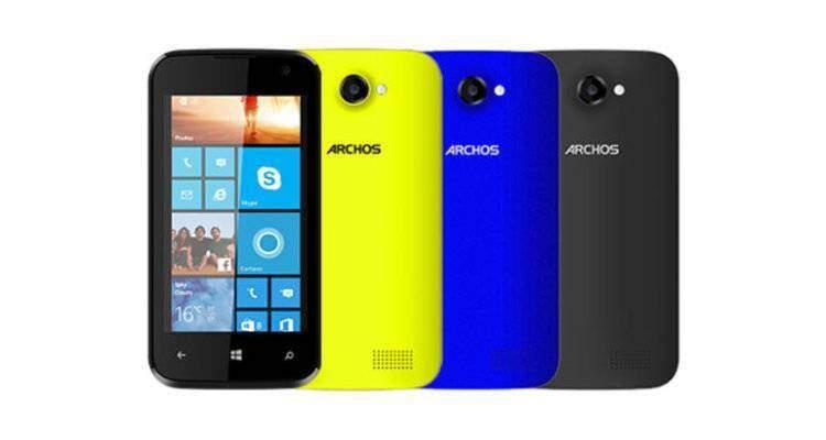Archos lancia 40 Cesium con Windows Phone 8.1 a 99€