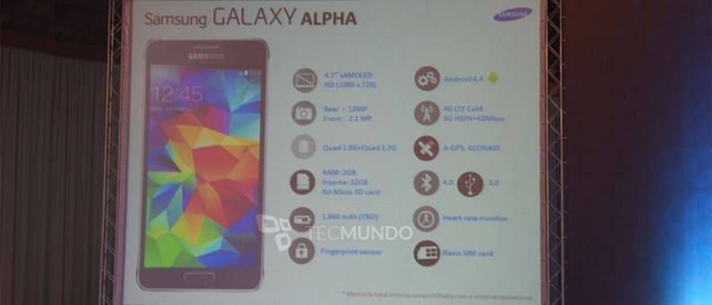 galaxy-alpha-specifiche