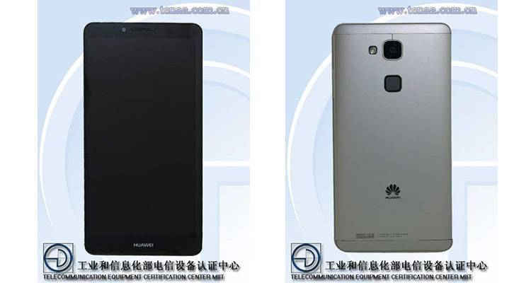 Huawei Ascend Mate 7: caratteristiche tecniche da TENAA