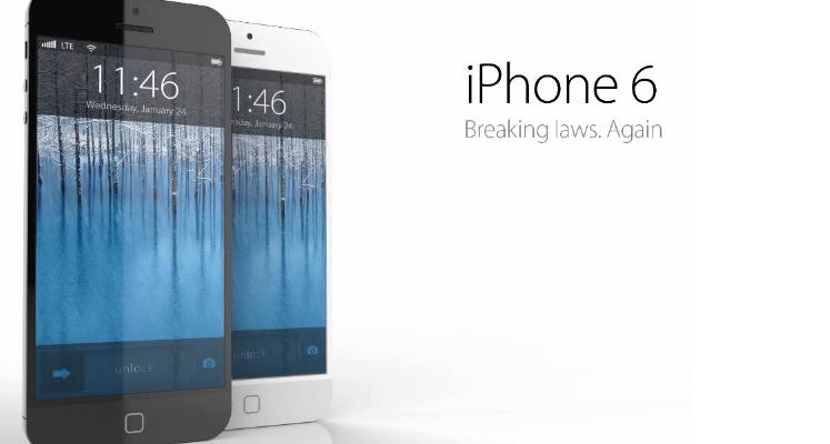 Locandina presentazione iPhone 6