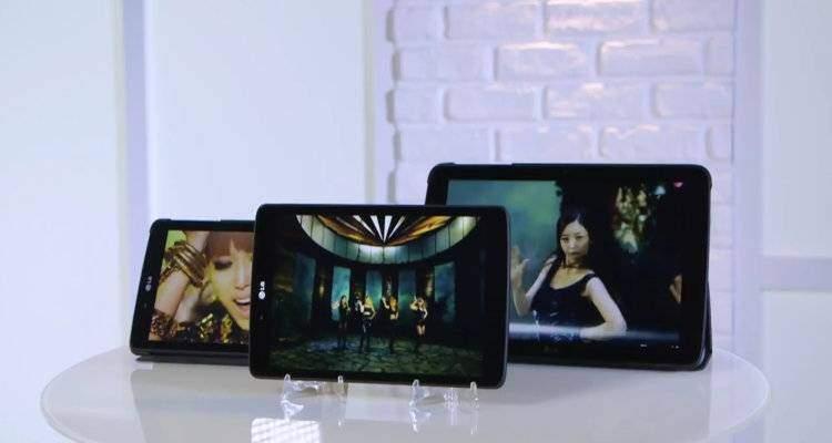 LG G Pad 2014 presentati in video da Raffaele Cinquegrana