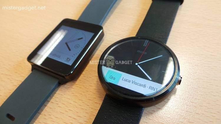 Motorola Moto 360: batteria dura 2.5 volte LG G Watch!