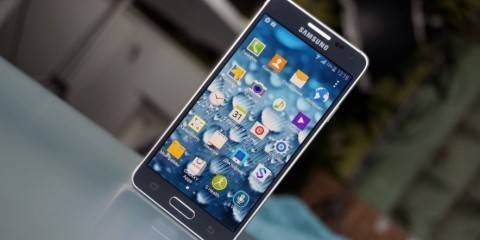Fotografia dal vivo del Samsung Galaxy Alpha