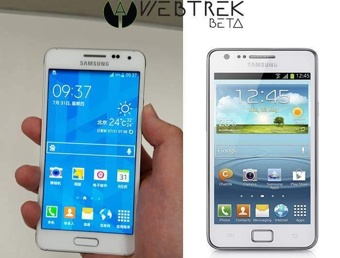 Confronto tra Samsung Galaxy Alpha e Galaxy S2