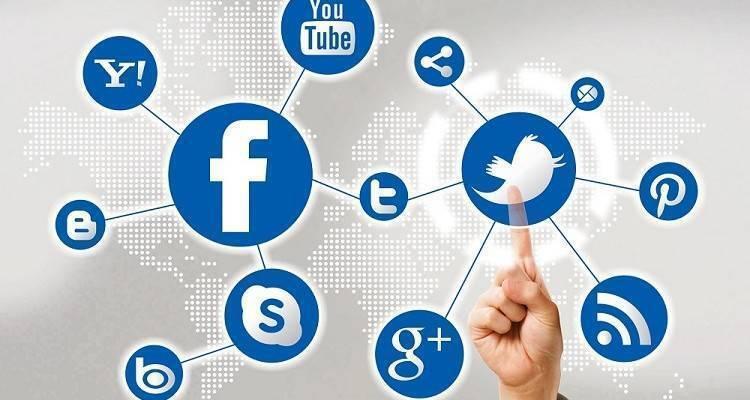 Logo social media marketing