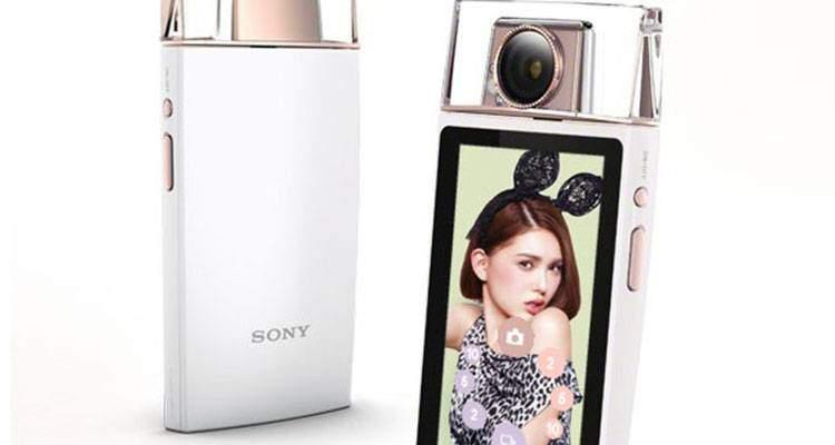Sony KW1: fotocamera per i selfie che sembra un profumo