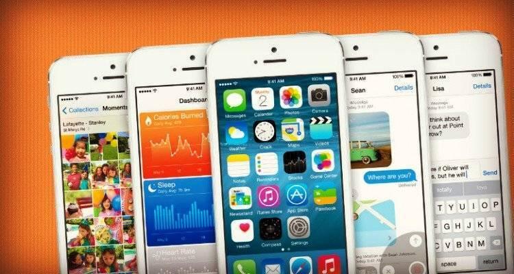 iOS 8 locandina