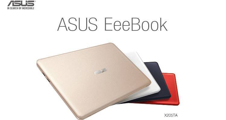 ASUS eeeBook ufficiale: è un PC con Windows 8.1 a 199€