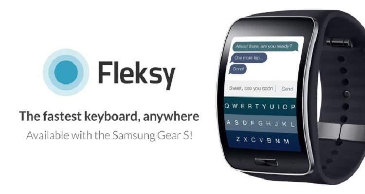 Fleksy nativamente su Gear S
