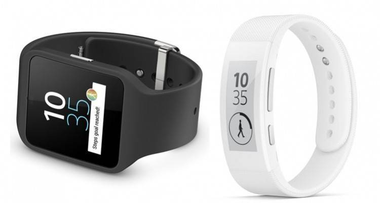 Sony Smartwatch 3 e Smartband Talk