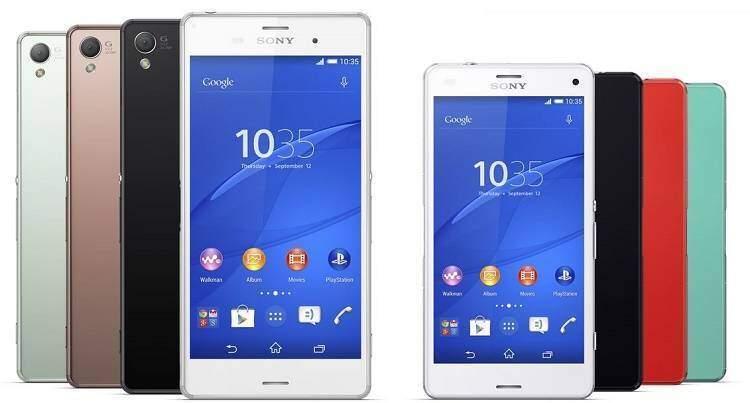 Sony Xperia Z3 e Xperia Z3 Compact già in offerta online