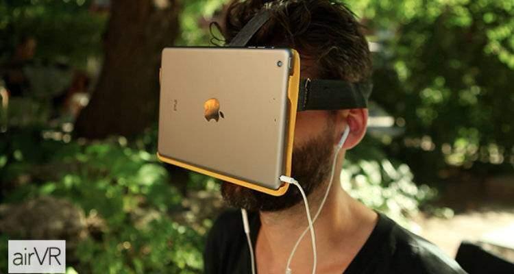 airvr realtà virtuale su ipad