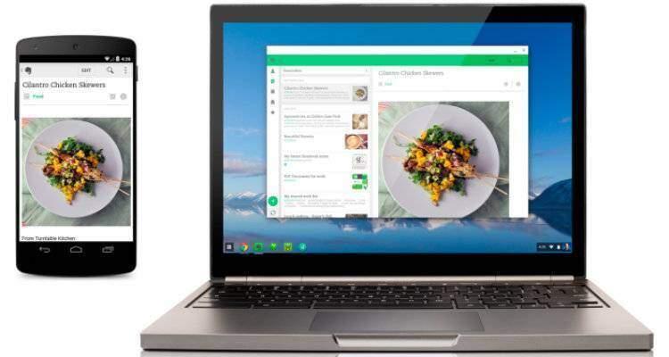 Evernote ed altre applicazioni Android arrivano sui Chromebook