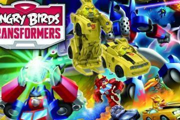 angry birds transformers gameplay