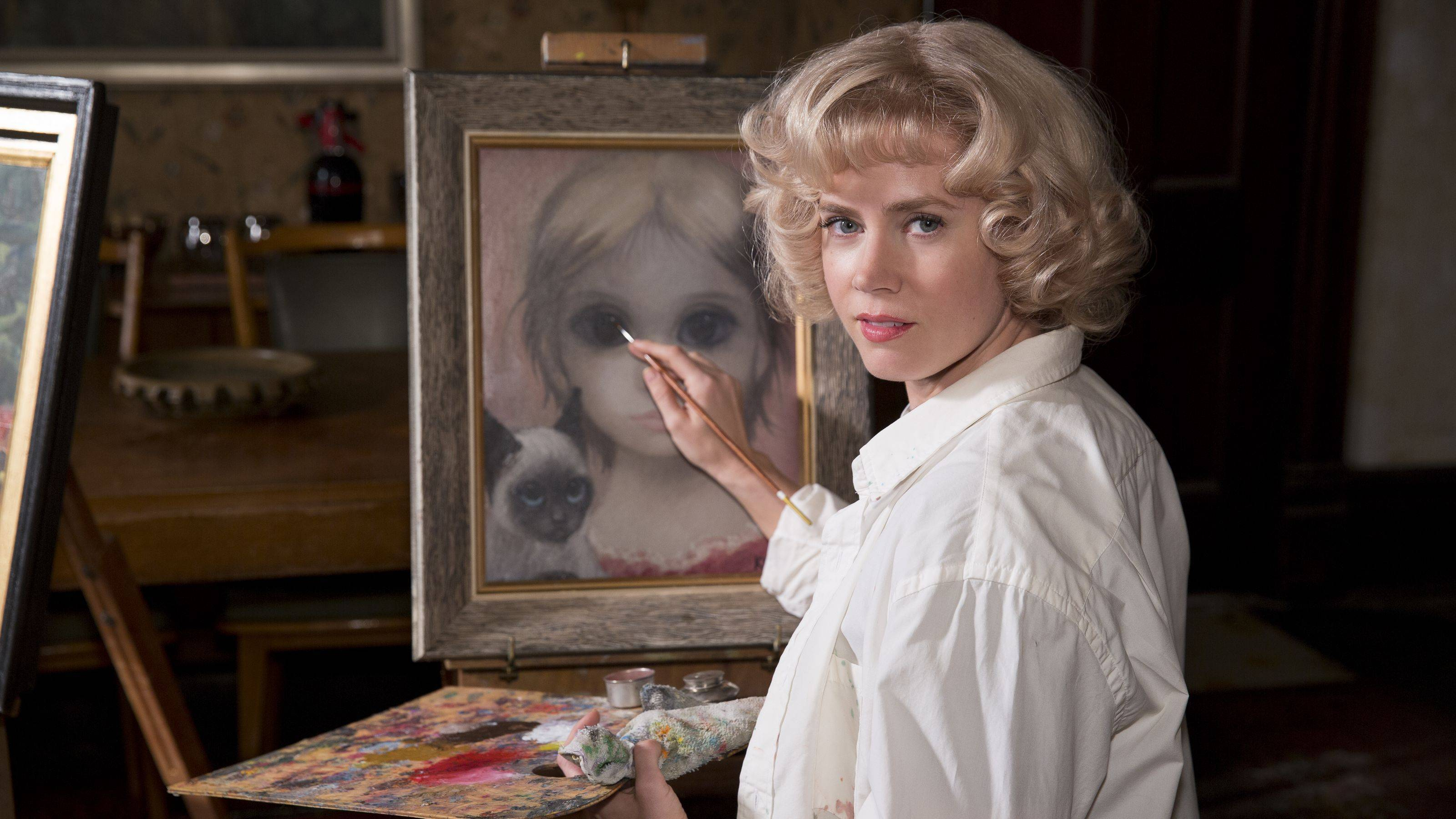Big Eyes, primo trailer del nuovo film di Tim Burton