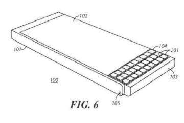 Prototipo di un nuovo smartphone Blackberry