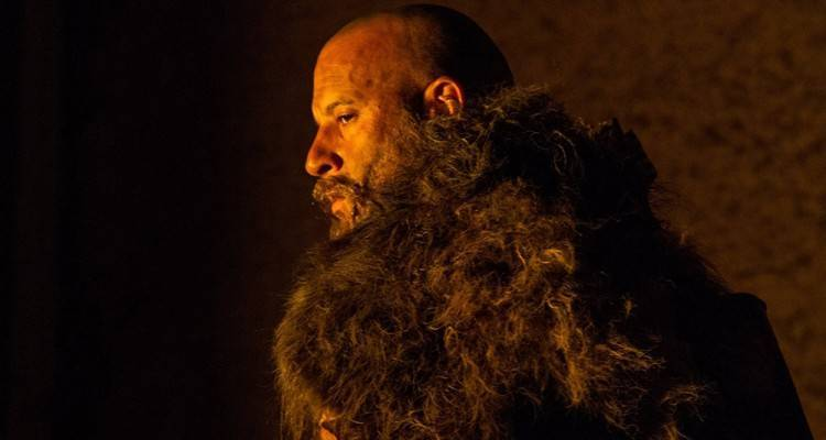 Vin Diesel nei panni del protagonista di The Last Witch Hunter
