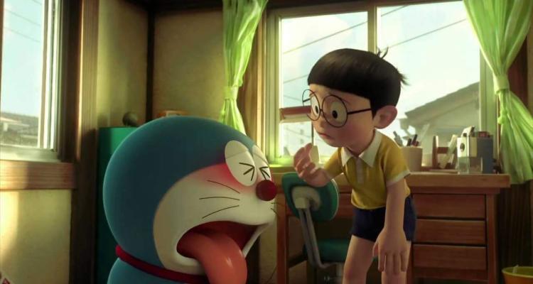 Doraemon e Nobita, i protagonisti di Doraemon 3D