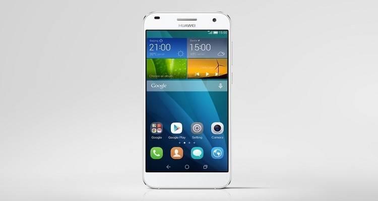 Immagine ufficiale di Huawei Ascend G7