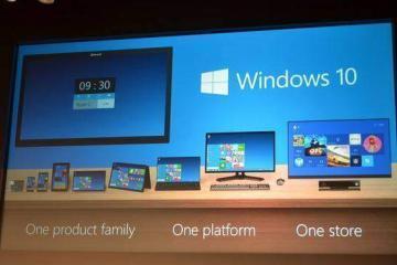 Immagine promozionale Windows 10