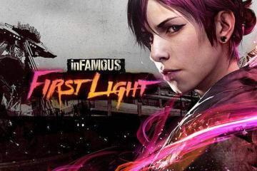 Immagine promozionale di inFAMOUS First Light per la recensione del DLC per PlayStation 4.