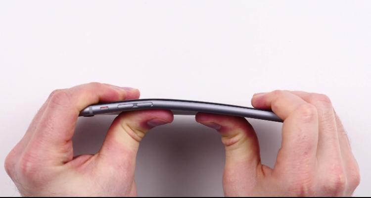 iphone 6 plus test flessione