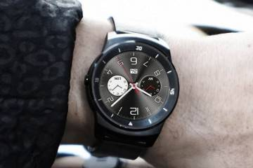 Fotografia dal vivo dell'LG G Watch R