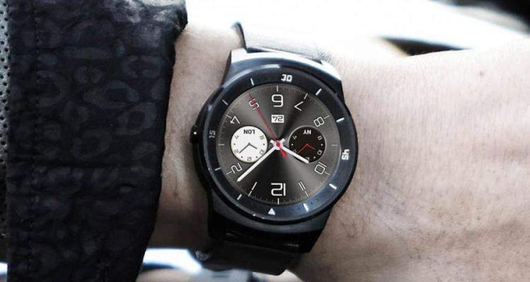 Fotografia dal vivo dell'LG G Watch R