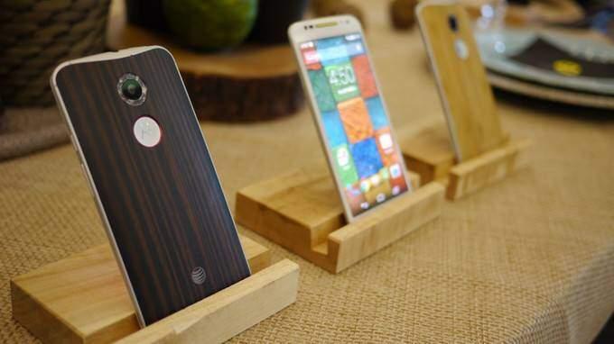 fotografia dal vivo del Motorola Moto X di nuova generazione