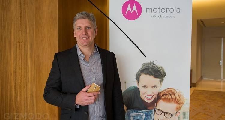 Immagine di Rick Osterloh, CEO di Motorola