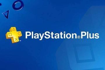 Logo di PlayStation Plus, il servizio online di Sony per console PlayStation.