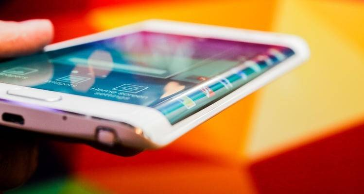 Il Samsung Galaxy Note Edge annunciato all'IFA 2014.