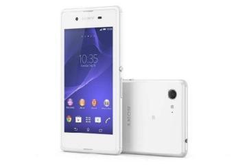 Immagine frontale dello smartphone Android Sony Xperia E3