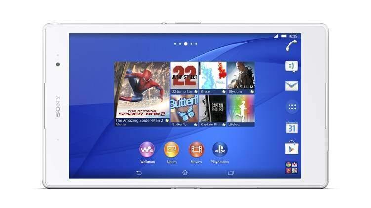Immagine ufficiale di Sony Xperia Z3 Tablet Compact