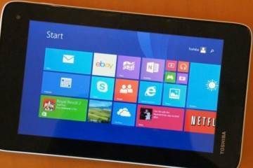 Immagine del tablet Windows 8.1 Toshiba Encore Mini
