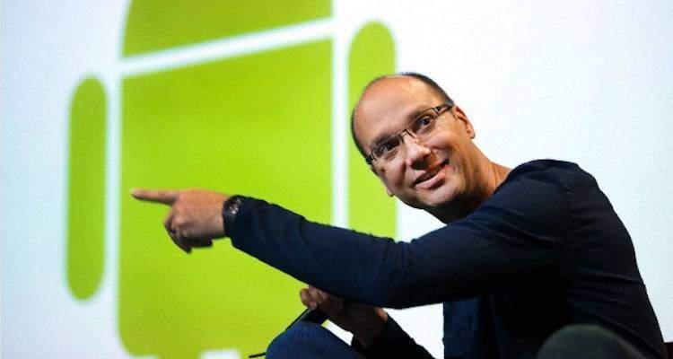Andy Rubin, il papà di Android lascia Google
