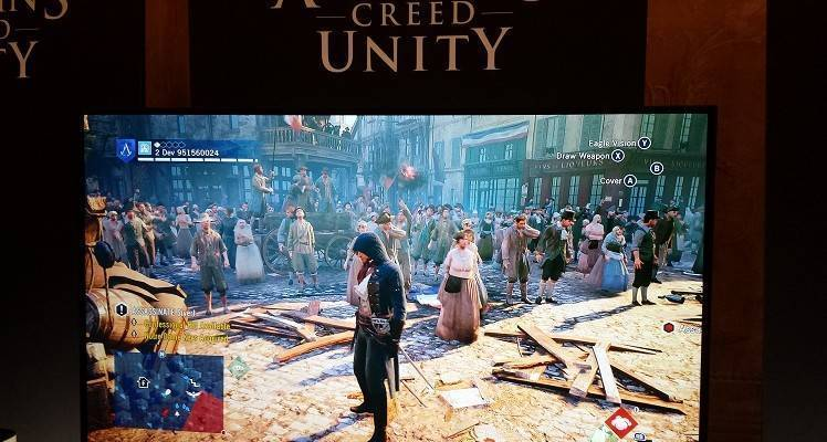 Fotografia gameplay di Assassin's Creed Unity